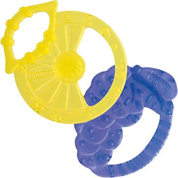 LEMON&GRAPE SHAPED SILICONE TEETHERS