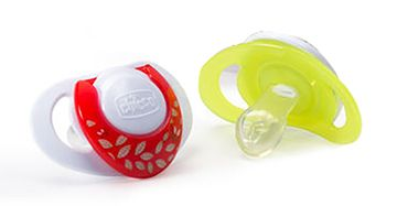 NaturalFit 2-Pack Deco Orthodontic Pacifier 4M+